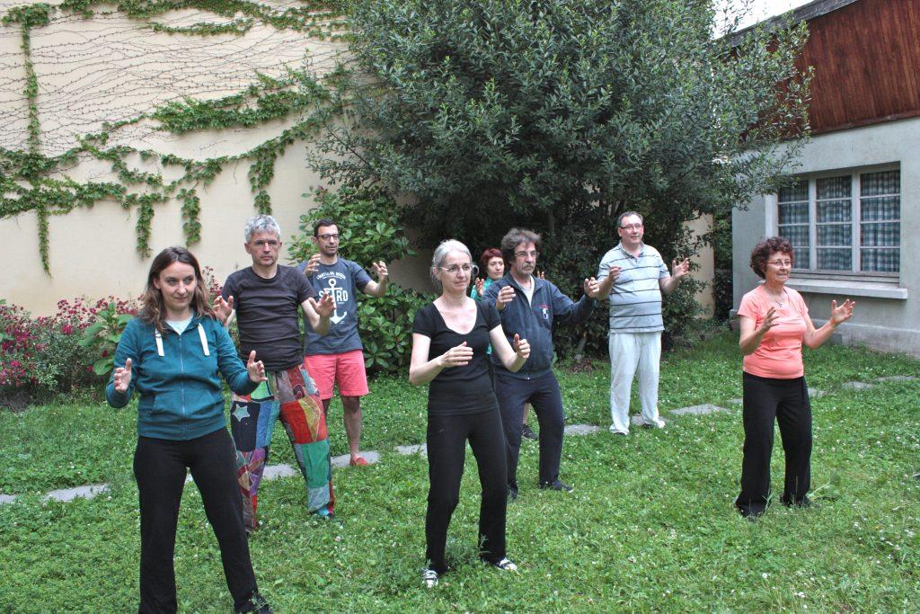 Cours de qi gong et tai chi 2016